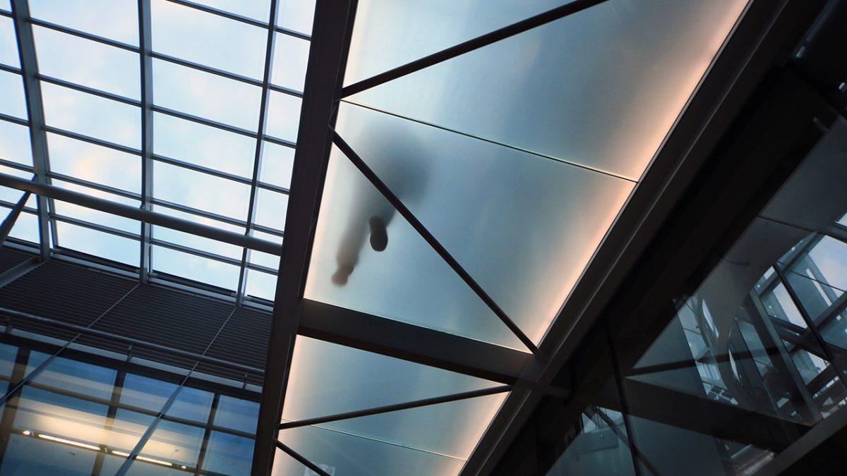 Vidrio antideslizante DIAMOND PLATE vidrio pisable. Facilvitrum