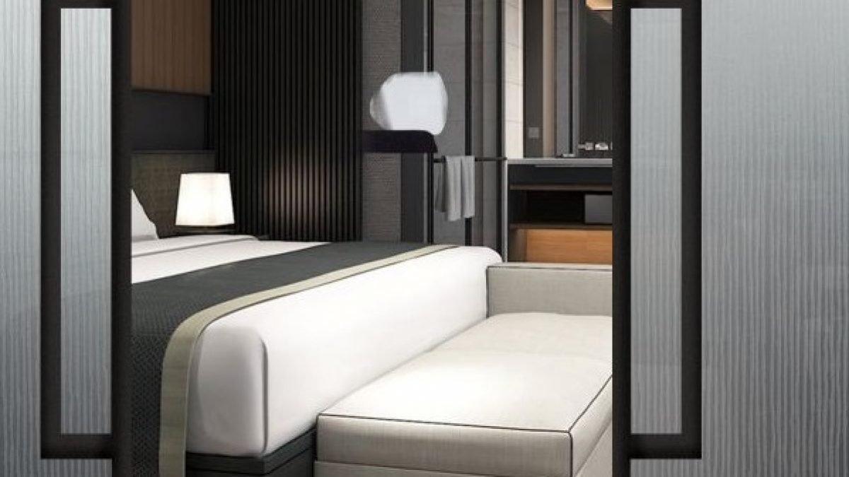 Vidrio Decorativo CANNES habitaciones de los hoteles